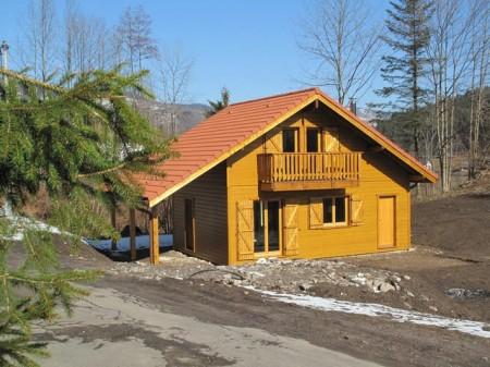 maison a vendre ventron 88310 achat maison ventron ventron hautes vosges chalet neuf terrain
